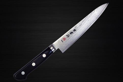 Kanetsune KC-100 VG10 33-Layer Damascus Japanese Chefs Petty KnifeUtility 150mm