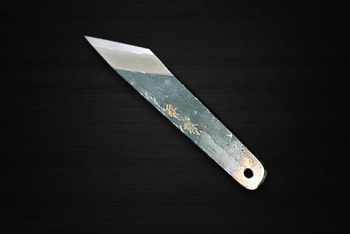 Yukifuji Chu-kasumi Gyokuhaku-ko White Steel Japanese Chefs Unagi-Saki 195mm