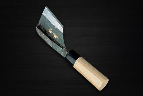 Yukifuji Chu-kasumi Gyokuhaku-ko White Steel Japanese Chefs Unagi-Saki 210mm