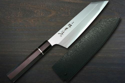 Sakai Takayuki Homura Premium Aogami 2 steel Japanese Chefs Kengata-Gyuto Knife 225mm