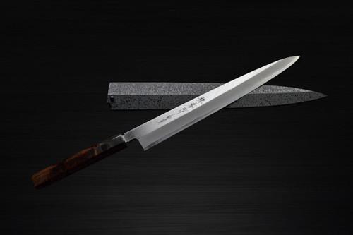 Sakai Takayuki Byakko White Tiger White 1 steel Japanese Chefs YanagibaSashimi 330mm