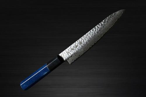 Sakai Takayuki 45-Layer Damascus Indigo Japan-Blue Chefs Petty KnifeUtility 150mm