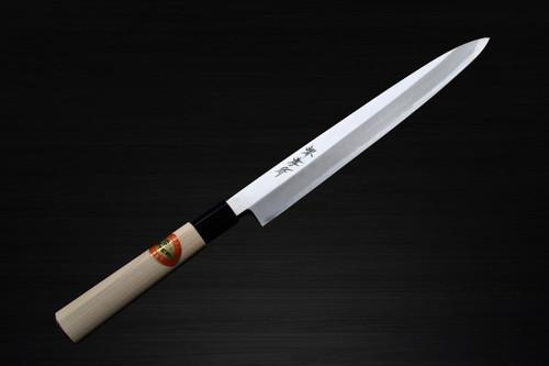 Sakai Takayuki Kasumitogi White steel Japanese Chefs YanagibaSashimi 180mm