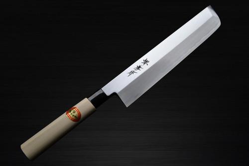 Sakai Takayuki Kasumitogi White steel Japanese Chefs UsubaVegetable 150mm