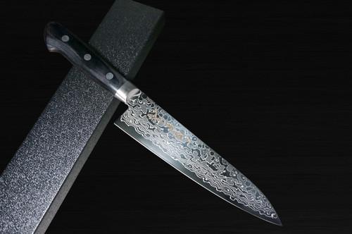 Sakai Takayuki 45-Layer Damascus Mirrored Japanese Chefs Gyuto Knife 180mm