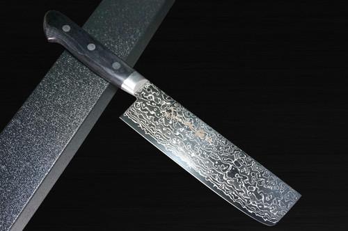 Sakai Takayuki 45-Layer Damascus Mirrored Japanese Chefs Vegetable Knife 160mm