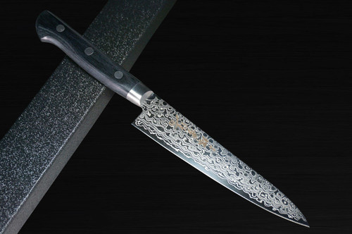 Sakai Takayuki 45-Layer Damascus Mirrored Japanese Chefs Petty KnifeUtility 135mm