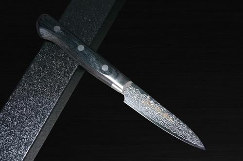 Sakai Takayuki 45-Layer Damascus Mirrored Japanese Chefs Paring Knife 80mm