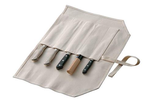 Tojiro Kitchen-Knife Roll Carry Bag Canvas 5 Pockets