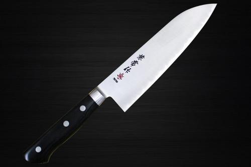 Kanetsune KC-130 SG2 Powdered High Speed Steel Japanese Chefs Santoku Knife 165mm