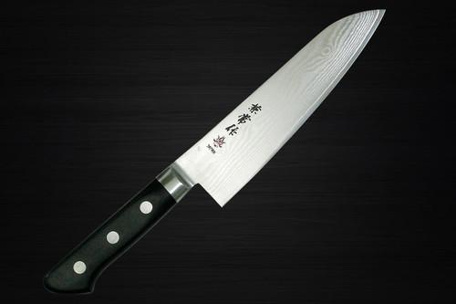 Kanetsune KC-200 VG10 33-Layer Damascus Japanese Chefs Santoku Knife 180mm