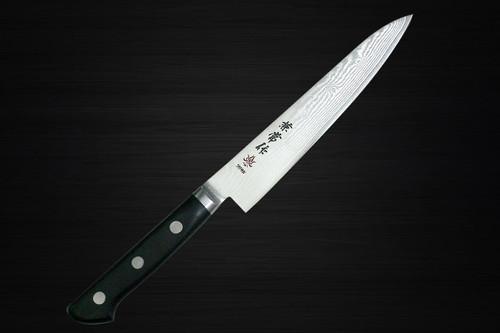 Kanetsune KC-200 VG10 33-Layer Damascus Japanese Chefs Petty KnifeUtility 150mm