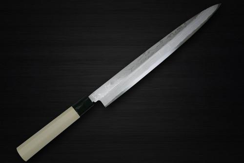 Kanetsune KC-500 White Steel 11-Layer Damascus Japanese Chefs YanagibaSashimi 270mm