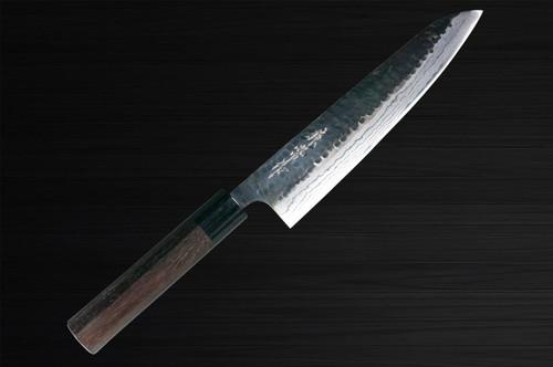 Kanetsune KC-930 Aogami No.2 Damascus Kurouchi Japanese Chefs Gyuto Knife 210mm