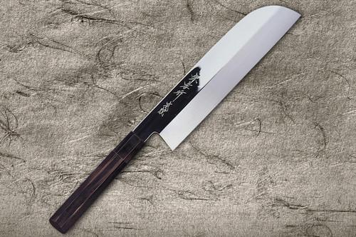 Sakai Takayuki Honyaki Water Quench Aogami 2 Steel Japanese Chefs Kamagata-UsubaVegetable 180mm
