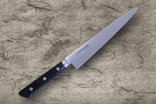 Fujiwara Kanefusa Molybdenum Stainless Japanese Chefs Petty KnifeUtility 180mm