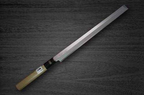 Fujiwara Kanefusa White Steel Japanese Chefs TakohikiSashimi 270mm