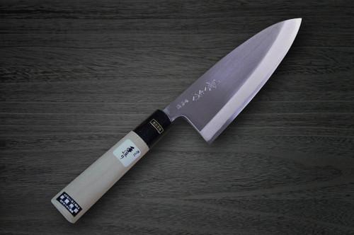 Fujiwara Kanefusa V-Gold Stainless Japanese Chefs Deba Knife 150mm