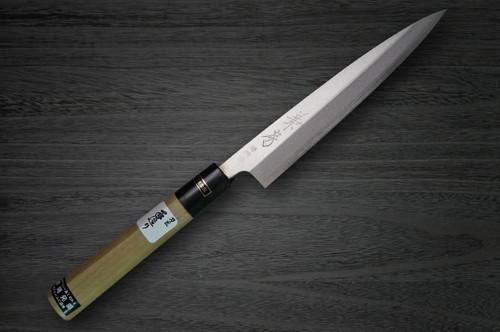Fujiwara Kanefusa V-Gold Stainless Japanese Chefs Kai-Saki 120mm