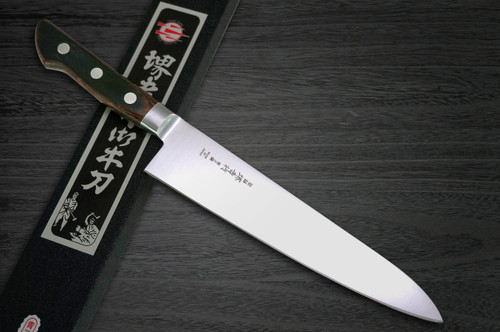 Sakai Takayuki Aoniko Blue 2 Steel Japanese Chefs Gyuto Knife 180mm