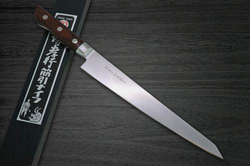 Sakai Takayuki Aoniko Blue 2 Steel Japanese Chefs SlicerSujihiki 240mm
