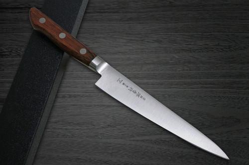 Sakai Takayuki Aoniko Blue 2 Steel Japanese Chefs Petty KnifeUtility 150mm