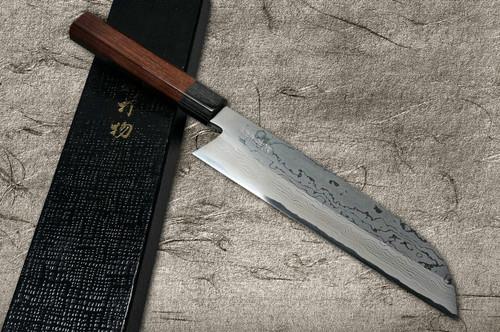 Takayuki Iwai Aogami No.2 Damascus FUMON RS Japanese Chefs Kamagata-UsubaVegetable 210mm