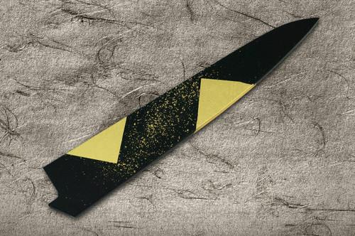 Saya Sheath with Genuine 24K Japanese Gold Leaf SlicerSujihiki 240mm