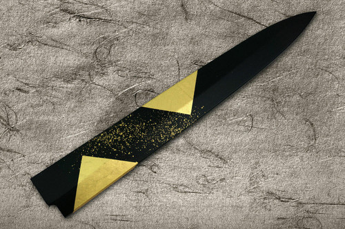 Saya Sheath with Genuine 24K Japanese Gold Leaf YanagibaSashimi 330mm