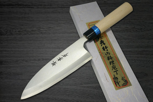 Left Handed Sakai Takayuki INOX Japanese-style Chefs Ai-Deba Knife 135mm