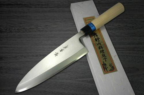 Left Handed Sakai Takayuki INOX Japanese-style Chefs Deba Knife 210mm