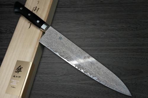 Hattori KD30 COWRY-X 121 Layered Damascus SAN Japanese Chefs Gyuto Knife 270mm 80year-anniv version
