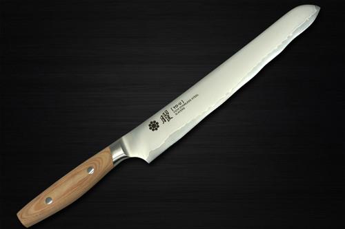 Yaxell YO-U bianco 3-Layer VG-10 Japanese Chefs Bread Slicer 230mm