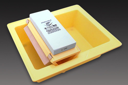 Naniwa Grit Waterstone Whetstone #220 #1000 #3000 SET with Container