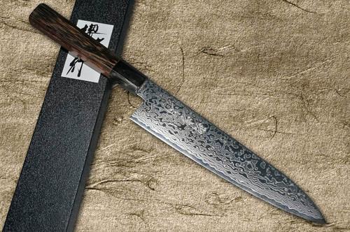 Sakai Takayuki GINGA ZA-18 69-Layer Damascus Japanese Chefs Gyuto Knife 210mm