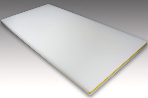 Sumitomo Super Heat Resistant Cutting Board CL Antibacterial Plastic 30SWL-YELLOW