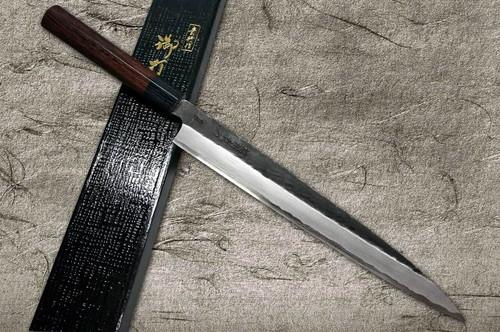 Takayuki Iwai Aogami No.2 Kurouchi RS Japanese Chefs YanagibaSashimi 270mm