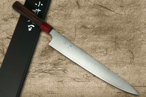 Kei Kobayashi R2 Special Finished RS8R Japanese Chefs SlicerSujihiki 270mm with Red-Ring Octagonal Handle