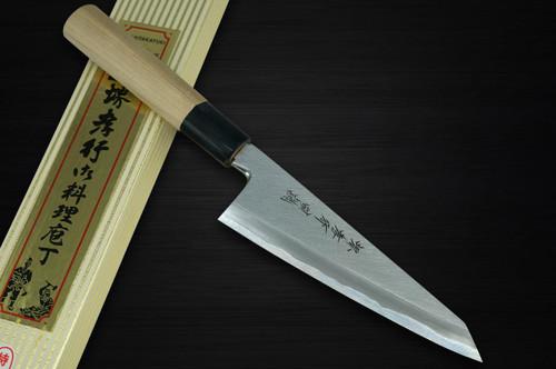 Sakai Takayuki Tokujyo Supreme White 2 steel Japanese Chefs Wa-HonesukiBoning 150mm