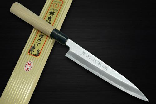 Sakai Takayuki Tokujyo Supreme White 2 steel Japanese Chefs Petty KnifeUtility 180mm KIWAMIULTIMATE