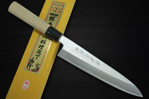 Sakai Takayuki Tokujyo Supreme White 2 steel Japanese Chefs Gyuto Knife 210mm KIWAMIULTIMATE
