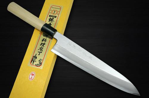 Sakai Takayuki Tokujyo Supreme White 2 steel Japanese Chefs Gyuto Knife 240mm KIWAMIULTIMATE