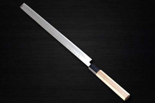 Sabun Ginsan Gingami No.3 steel Japanese Chefs TakohikiSashimi 300mm
