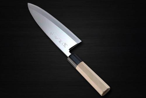 Sabun Ginsan Gingami No.3 steel Japanese Chefs Deba Knife 180mm