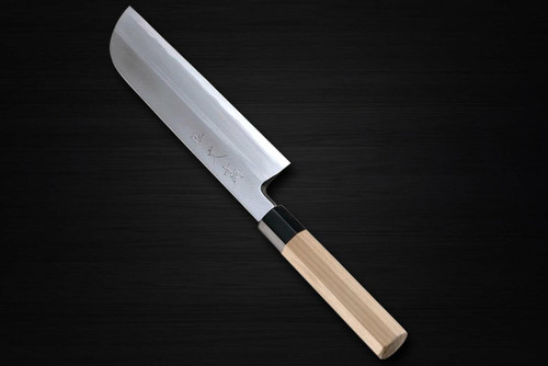 Sabun Aoko Aogami No.1 steel Japanese Chefs Kamagata-UsubaVegetable 210mm