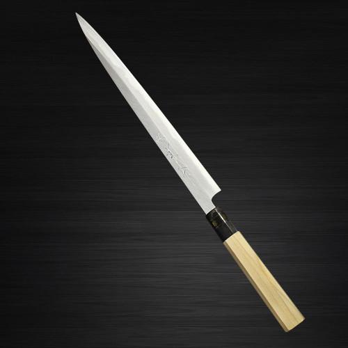 Sakai Jikko Montanren Aoko Aogami No.2 steel Japanese Chefs YanagibaSashimi 210mm