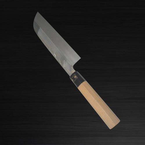 Sakai Jikko Montanren Aoko Aogami No.2 steel Japanese Chefs Kamagata-UsubaVegetable 180mm