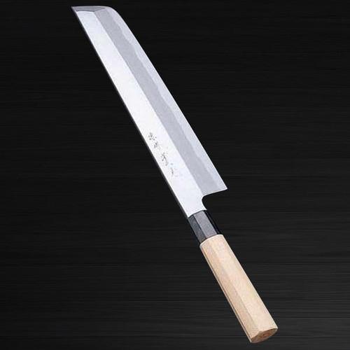 Sakai Jikko Montanren Aoko Aogami No.2 steel Japanese Chefs Hone-Kiri 240mm
