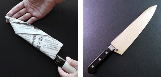 How to store sushi knife