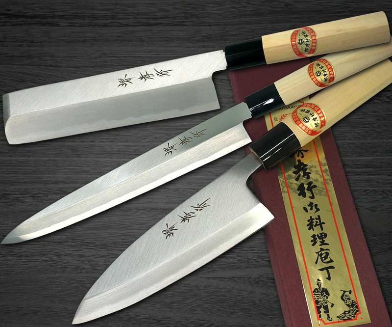 [Left Handed] Sakai Takayuki Kasumitogi (White steel)